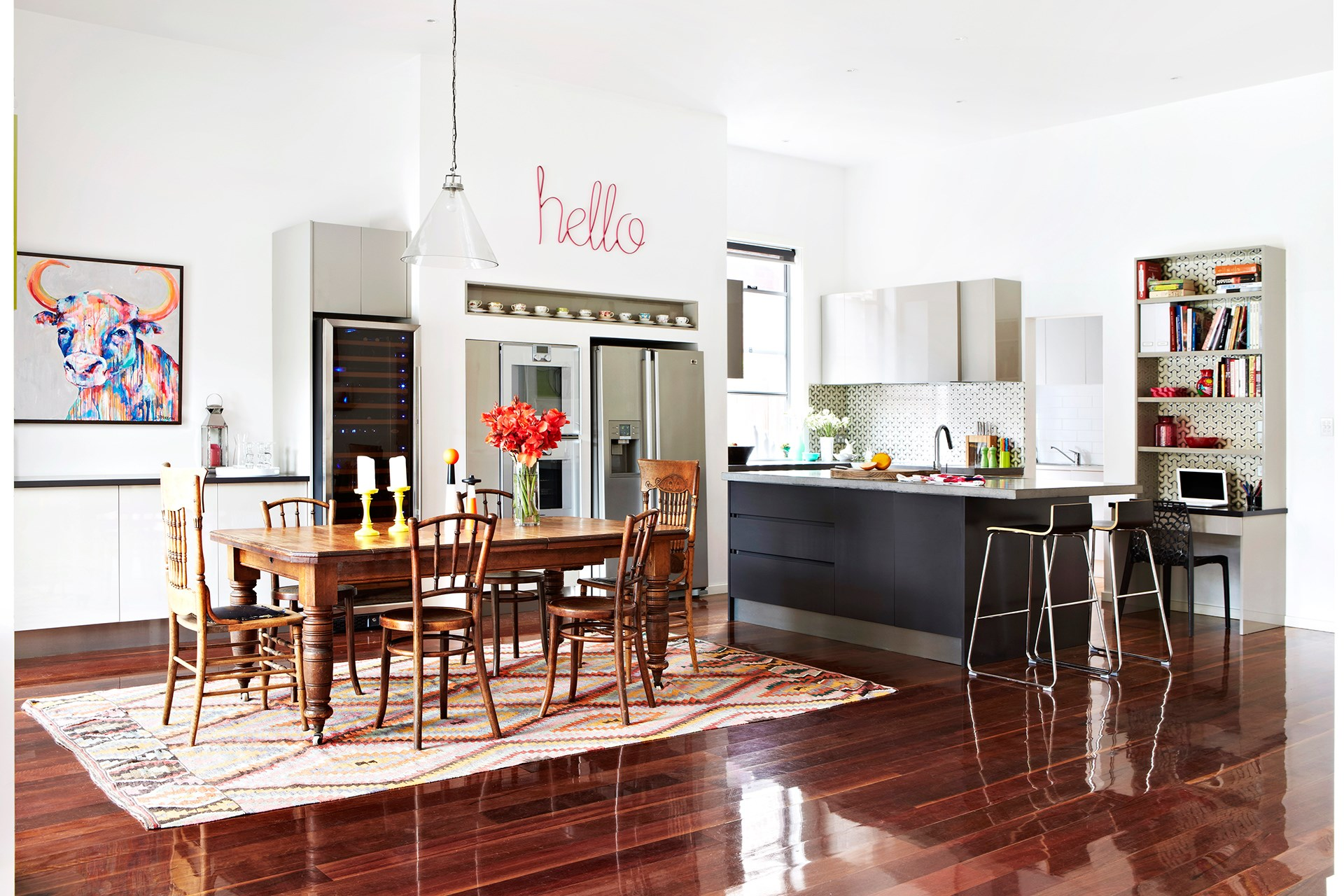 """Make winter cosier with heated floors. [> Check out this elegant Federation renovation with hydronic heating](http://www.homestolove.com.au/georgies-elegant-federation-house-renovation-1693