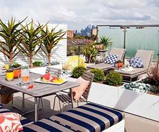 Inspiring inner-city rooftop escapes