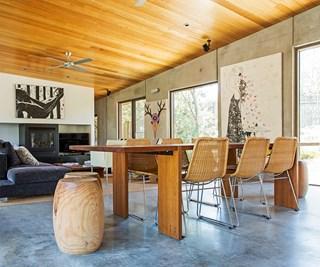 Environmentally friendly contemporary family home
