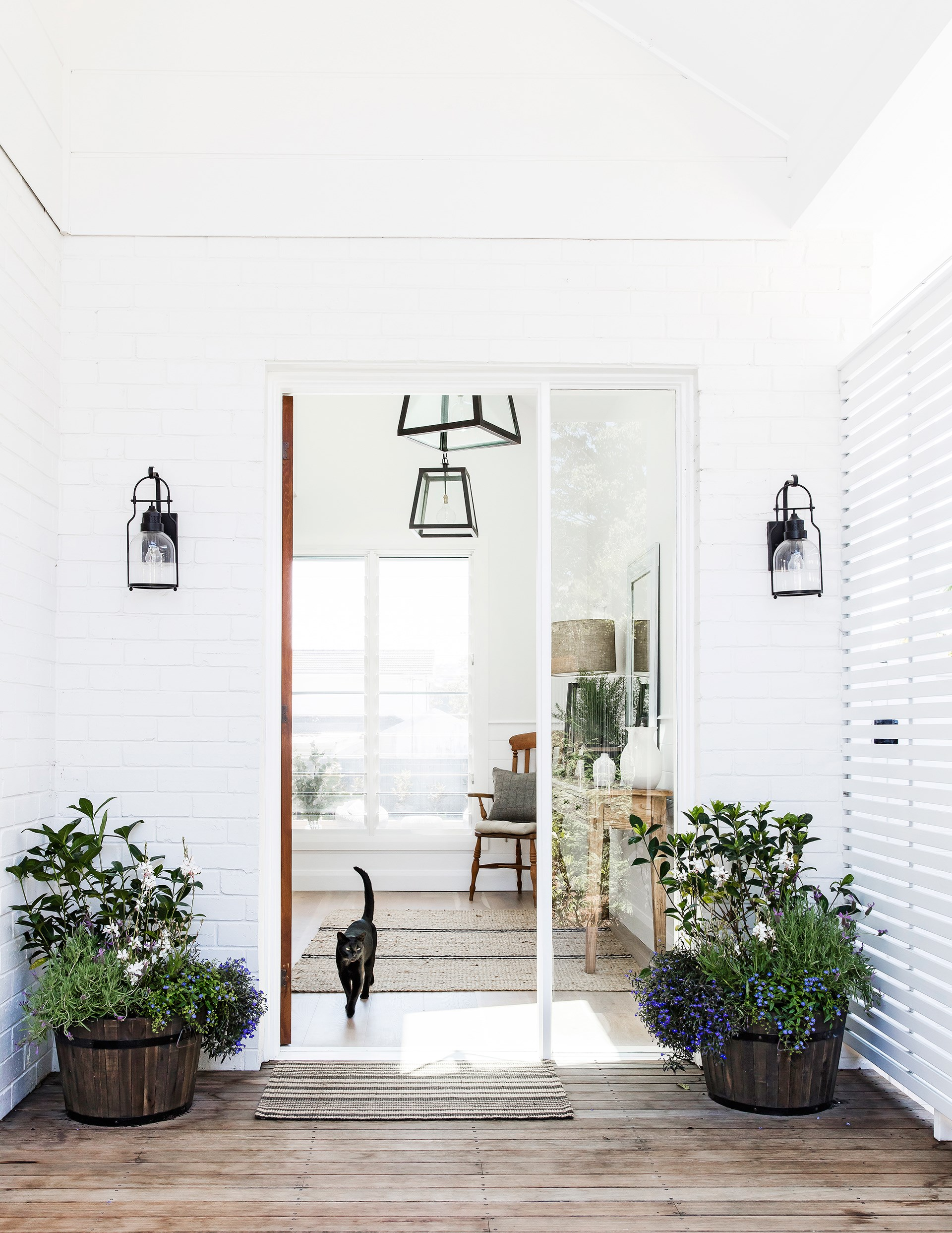 """Unhappy with the original side entrance, Anna requested that Adam Hobbs of [Hobbs Jamieson Architecture](http://hobbsjamieson.com.au/?utm_campaign=supplier/