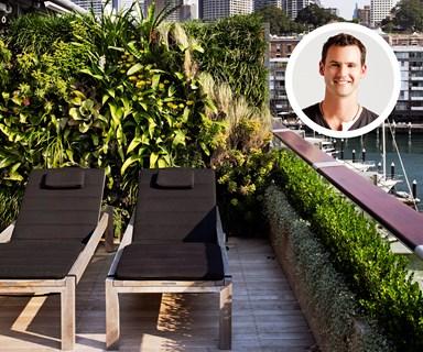 Create an environmentally friendly rooftop garden
