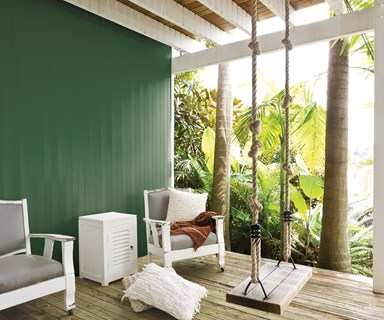 How to use green to update your home