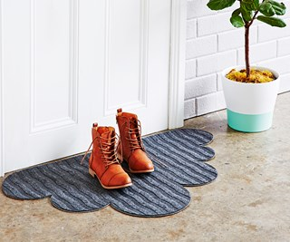 Weekend project: DIY cloud doormat