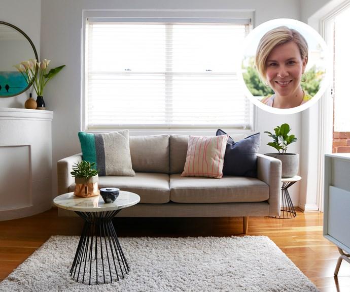 Take 5: Lauren Keenan's 5 tips for a living room mini-makeover
