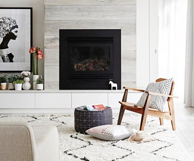 stylish winter house