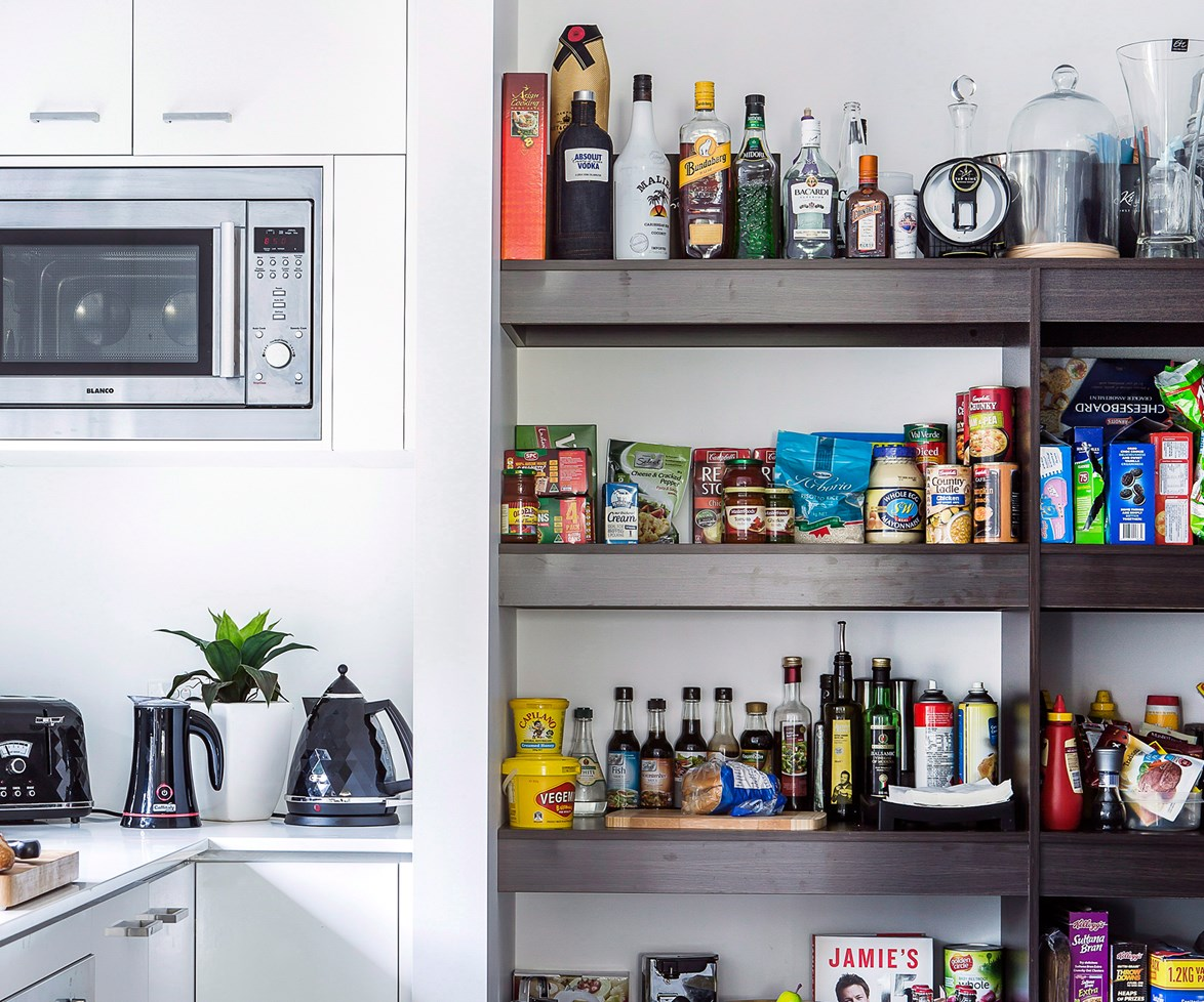 """**Organise the pantry.** Sick of never being able to find those tinned tomatoes (even though you're sure you bought three cans last week)? It's time for a fresh start. Take everything out of your [kitchen pantry](http://www.homestolove.com.au/tips-for-organising-your-pantry-3461