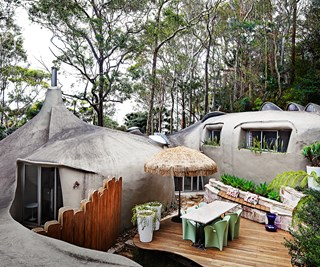 Sixties stylin' with a touch of fantasy on Sydney's Northern Beaches