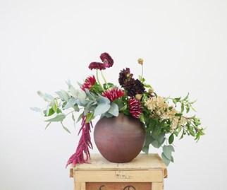 Dutch-style floral arrangement