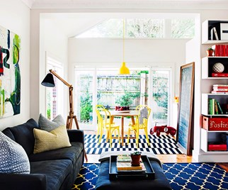decorating with primary colours