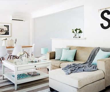 Before & after open-plan makeover