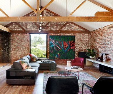 Cosying up a Melbourne warehouse conversion