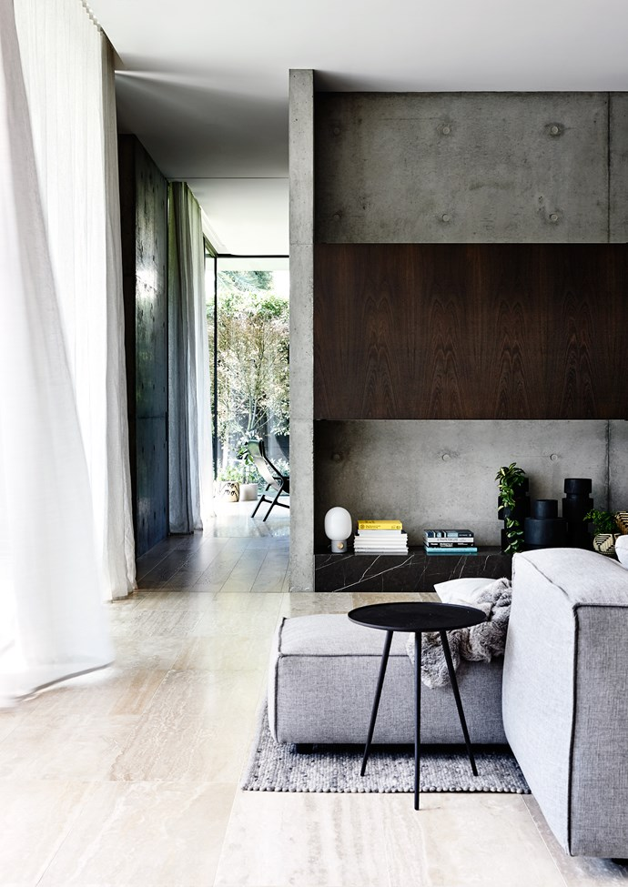 Floor-to-ceiling windows bring in an abundance of natural light.