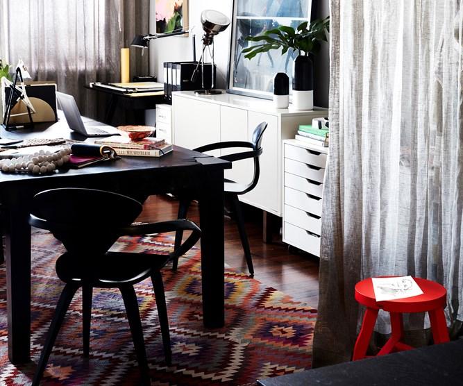 interior designer Chelsea Hing office