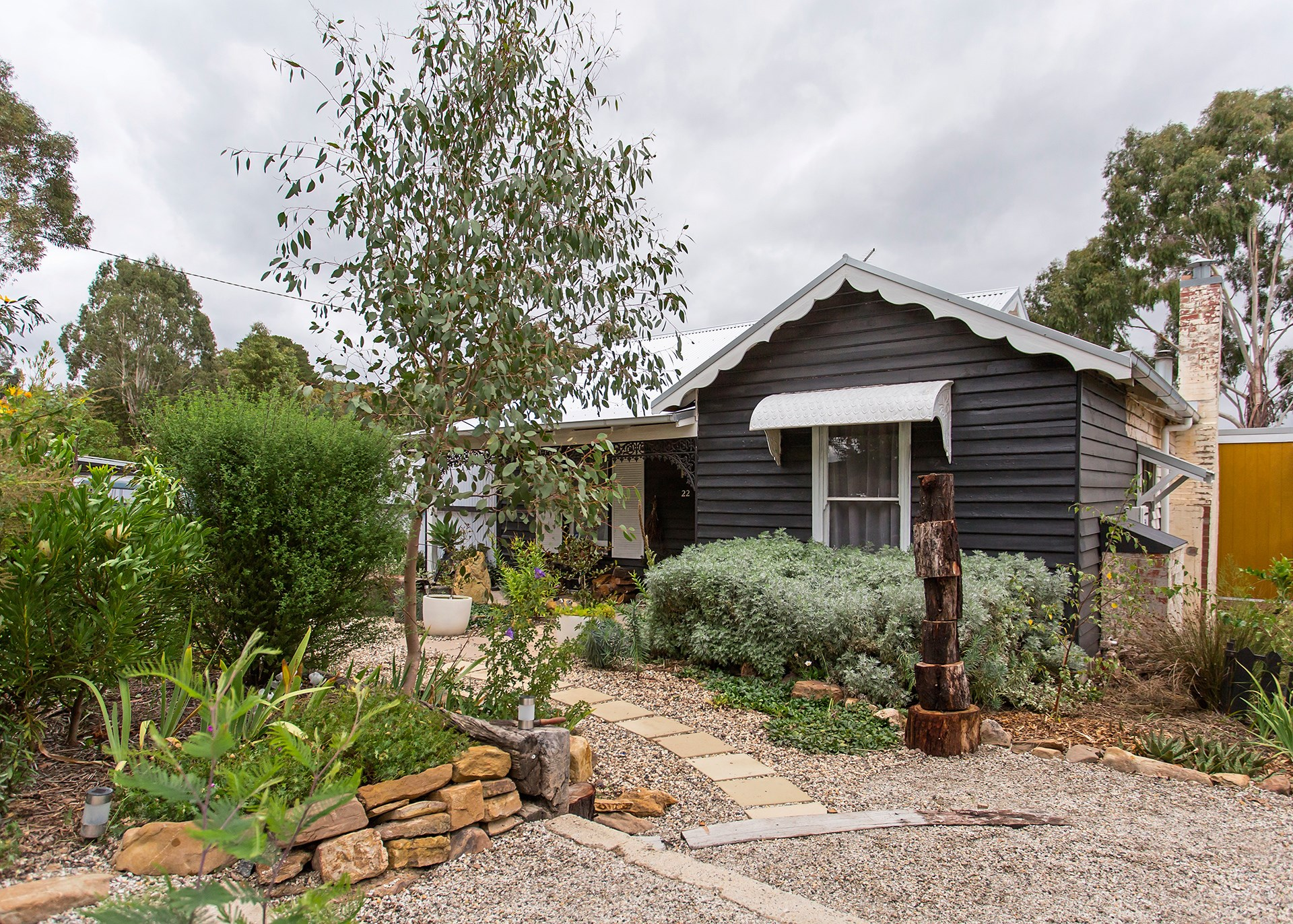 """**Plant a native garden** – native plants are equipped to handle the local conditions and you will rarely need to pamper them. [Take a tour of this 100-year-old Victorian home](http://www.homestolove.com.au/old-victorian-home-gets-budget-renovation-3769