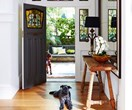 How to decorate a large entry hall