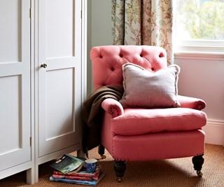 expert pick - pink armchair