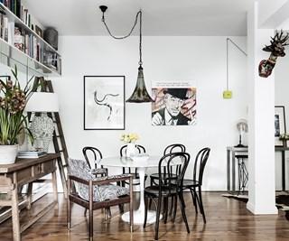 art deco apartment renovation