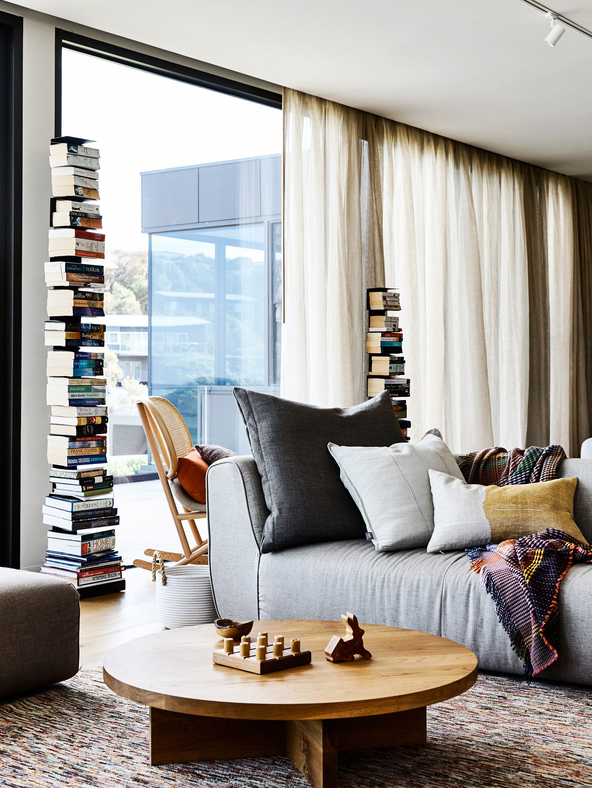 """""""The owners were very clear about what they wanted,"""" says Fiona. """"An earthy feel, [lots of layers](http://www.homestolove.com.au/mindful-home-decorating-2296