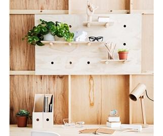 plywood shelves