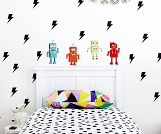 graphic kids room
