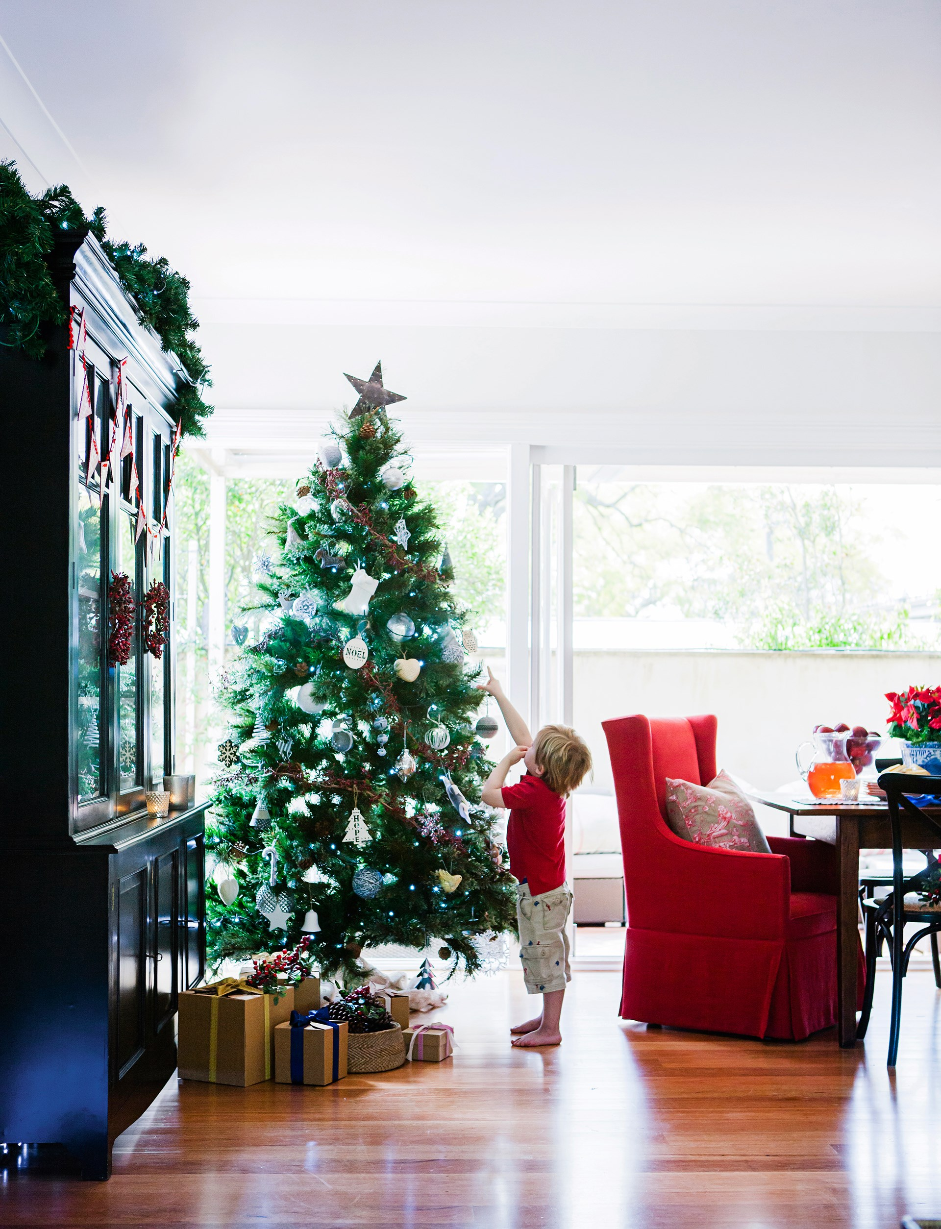 """Old and new traditions combine when this expat Dutch family rings in the season at their [historic sandstone bungalow in Sydney](http://www.homestolove.com.au/festive-family-home-decorating-ideas-3965