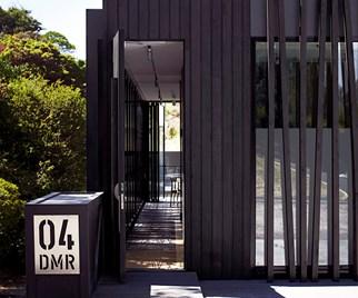 contemporary home entry