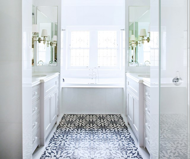 Space savvy bathroom layouts
