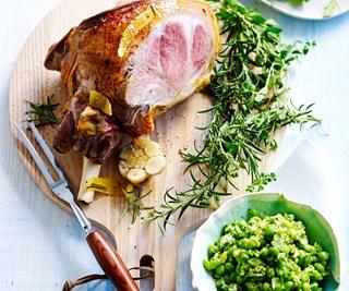 Spring lamb recipe