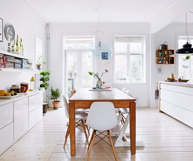 A Scandi–style home bursting with life