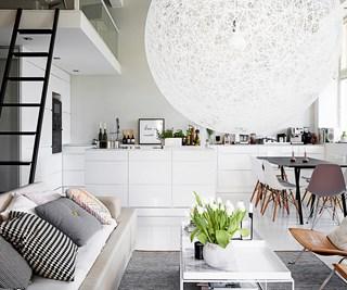 Scandi loft apartment