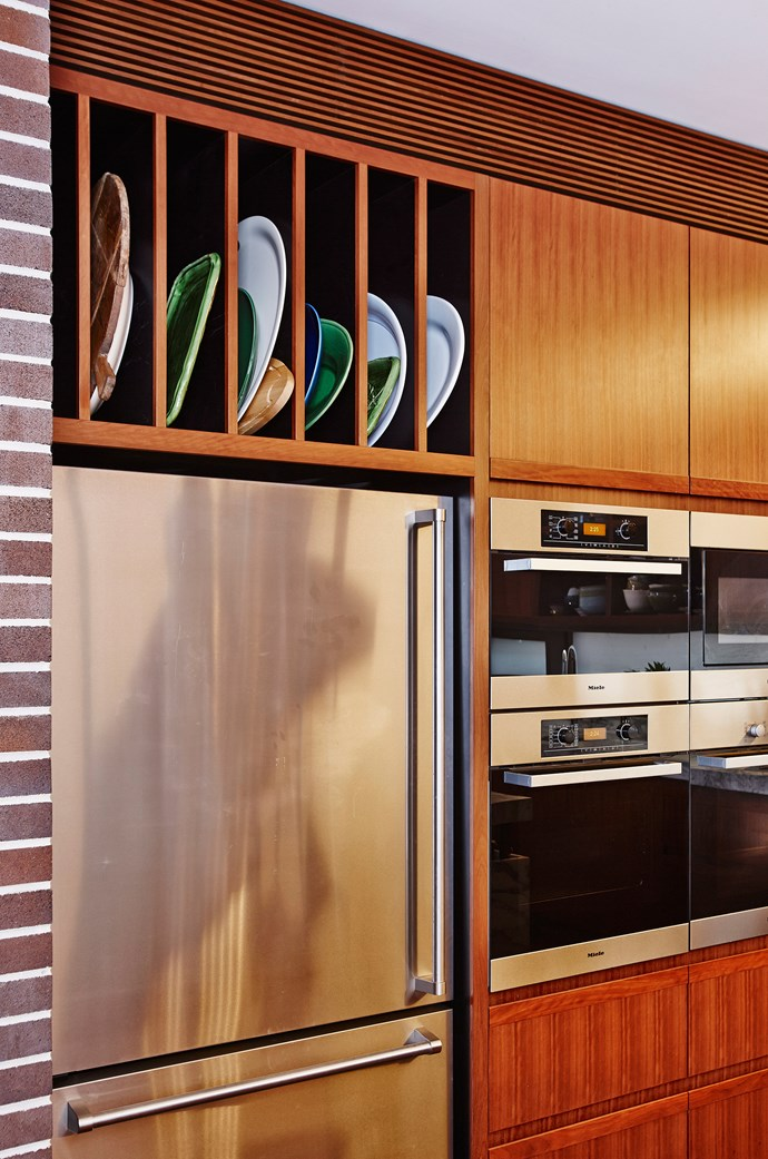 Stacked built-in ovens are a great space saving solution for small kitchens as they sit flush with the cabinetry and allow more room for storage. *Photo: Andrew Finlayson / bauersyndication.com.au*