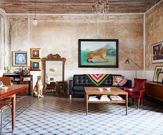Boho style apartment