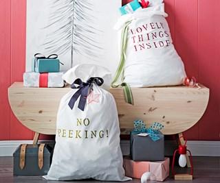 personalised Santa sack