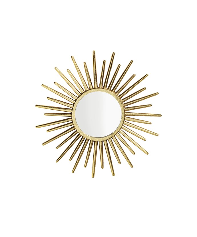 Get the look with this [H&M round mirror](http://www.hm.com/au/product/47340?article=47340-A), $39.99