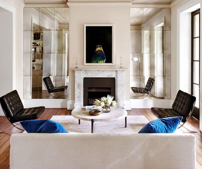 parisian living room apartment