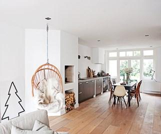 Scandi style interiors