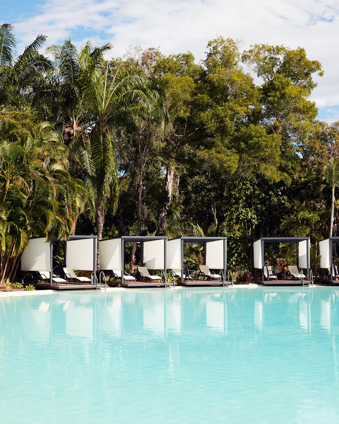 The chic coastal decorating extends to the spanking new poolside cabanas fringed by palm trees and just a few steps to the beach. Best enjoyed with a club sandwich and cocktail, it's no mirage – just a tropical paradise at its five-star finest.