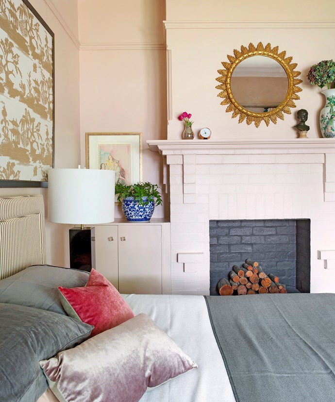 Here, framed art and antiques help create a sense of the personal within the space. *Photo: Angelita Bonetti*