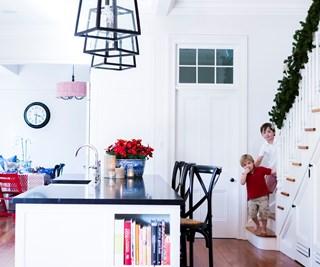 festive family home