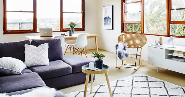 Stylist House Call: Living Room Makeover | HOMES