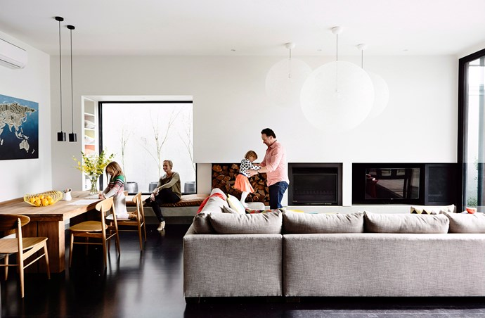 "[Open-plan layouts](http://www.homestolove.com.au/overcoming-the-obstacles-of-open-plan-living-4372|target=""_blank"") are a good fit for the Australian lifestyle: they're relaxed and informal, they draw in our beautiful natural light and they foster the indoor-outdoor connection we hold so dear. Photo: Derek Swalwell / bauersyndication.com.au"