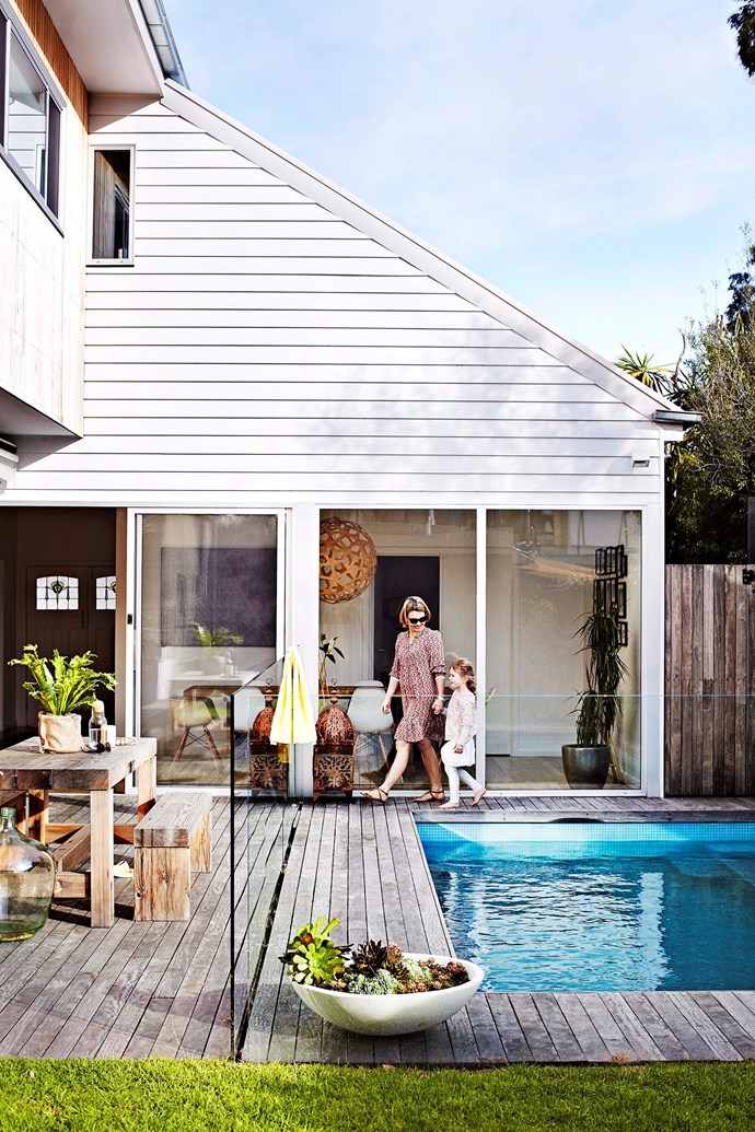 """During the summer, your deck is often used as an extra """"room"""", so it pays to keep it looking lovely. Photo: Sharyn Cairns"""