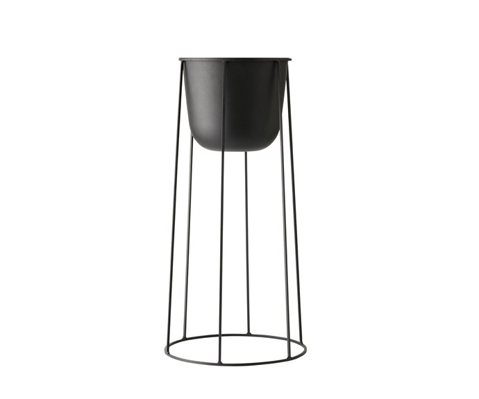 Menu wire plant stand (pot sold separately), $140, [Top3 by Design](https://top3.com.au/).