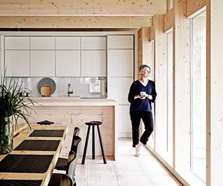 Scandi style cabin