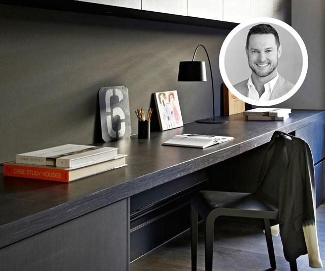 Darren Palmer home office