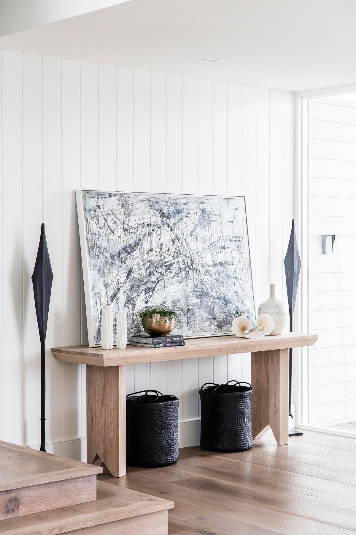 Foyer Furniture Sydney : Coastal style an airy new build in sydney homes