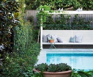 backyard pool oasis