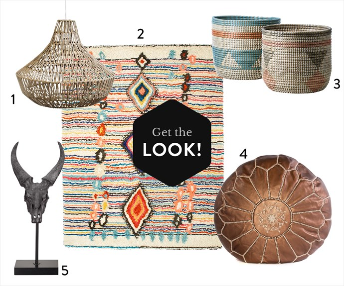 "**1.** Woven rope pendant lampshade, $199, from [Opus Design](http://opusdesign.com.au/|target=""_blank""