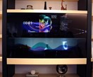 Panasonic unveils an invisible TV