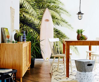 beachy interiors